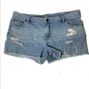 A.n.a. Denim Distressed Shorts